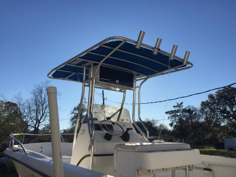 Sunbrella T-Top Replacement Custom Made For Florida Fisherman