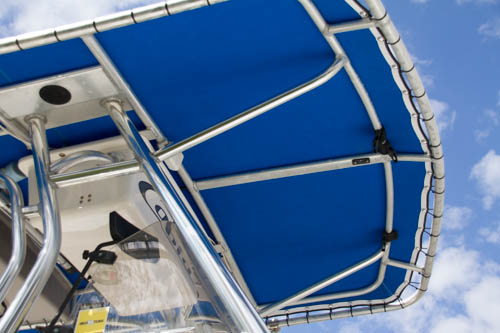 Sunbrella T-Top Replacement  Cover In Pacific Blue, Spring Hill, Florida